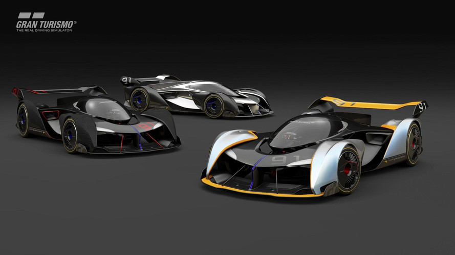 VIDÉO - Une McLaren de 1150 ch pour Gran Turismo Sport !