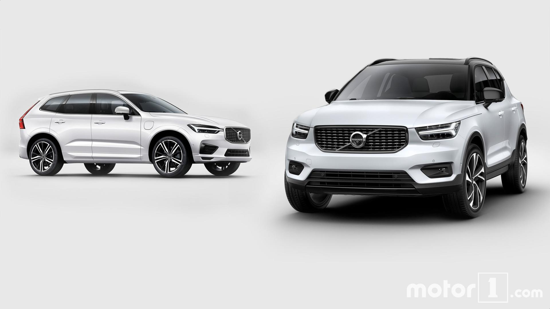volvo xc40 vs xc60 how the new little swede stacks up. Black Bedroom Furniture Sets. Home Design Ideas