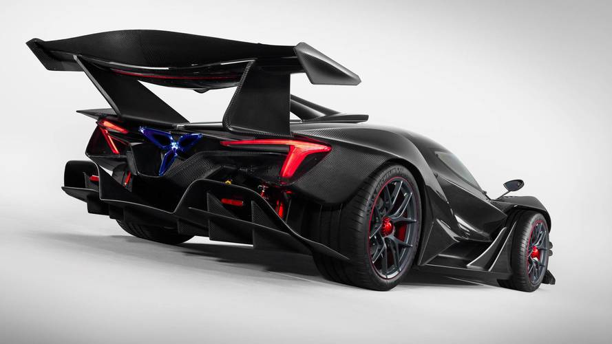 £2m Apollo Intensa Emozione track hypercar revealed with 769bhp