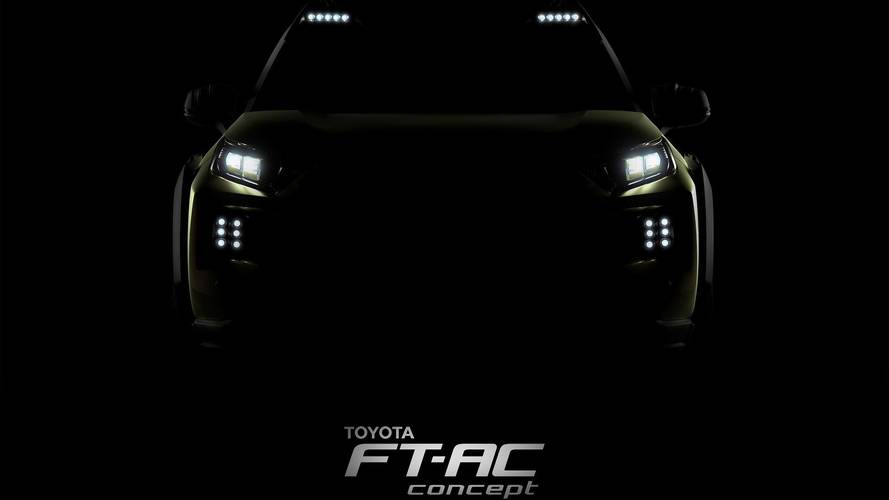 Toyota Teases FT-AC Concept Off-Roader Ahead Of November 30 Debut