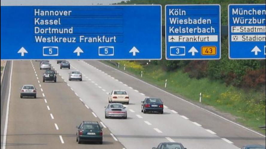 Dal 2016 in Germania l'autostrada si paga, solo se sei straniero