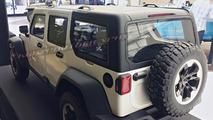 Reddedilen 2018 Jeep Wrangler tasarımı