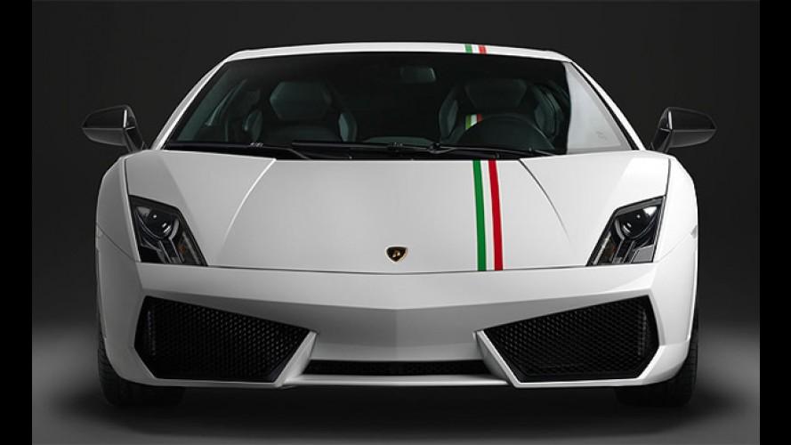 Lamborghini homenageia Itália com série especial Gallardo Tricolore