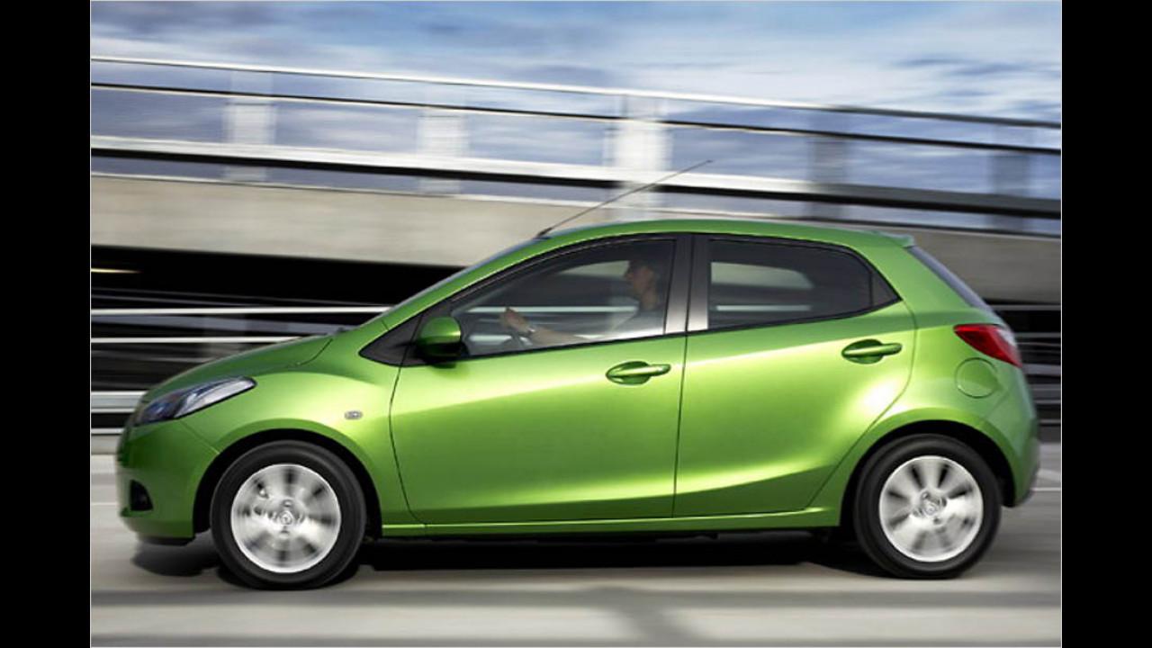 Die besten Autos bis 11 Jahre: Mazda 2