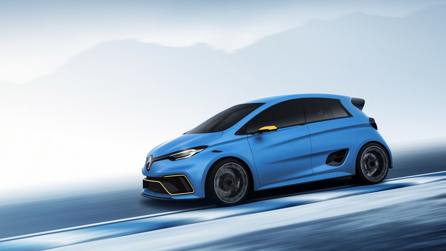 Renault Zoe E-Sport Concept Quicker To 62 MPH Than Formula E
