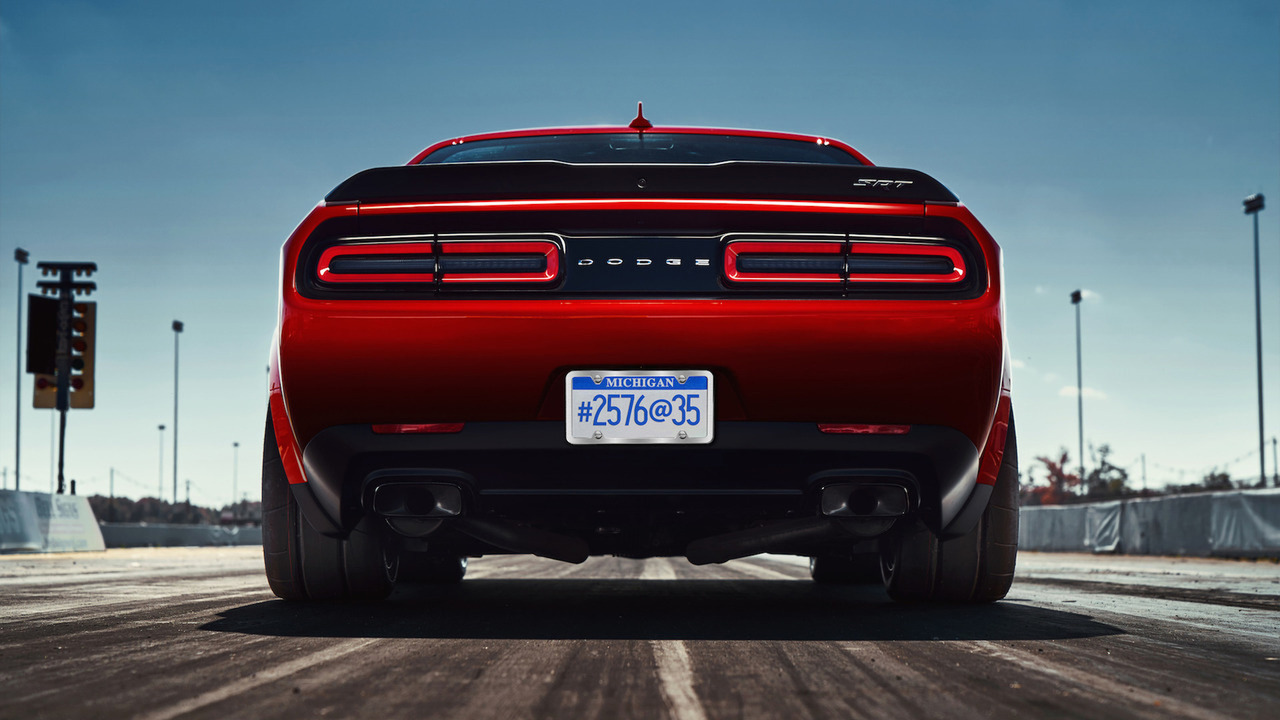 Dodge Challenger SRT Demon teasers