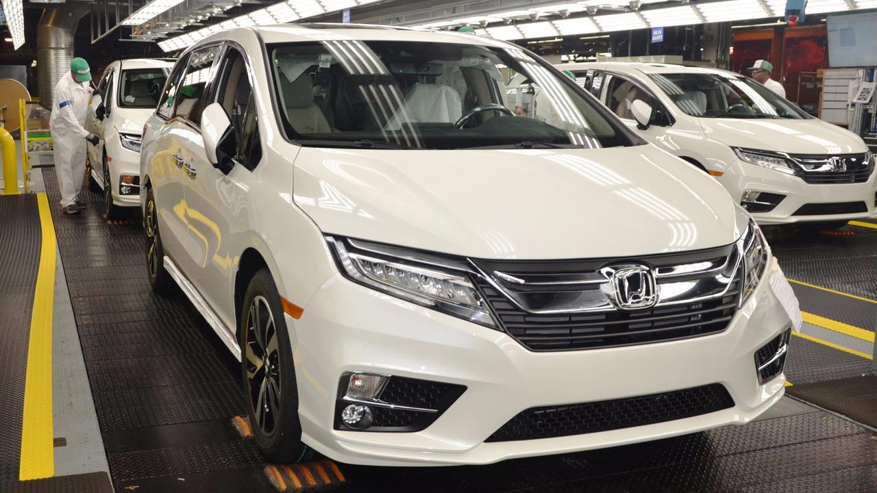 Produksi honda odyssey 2018 resmi dimulai di alabama 2018 honda odyssey touring elite interior