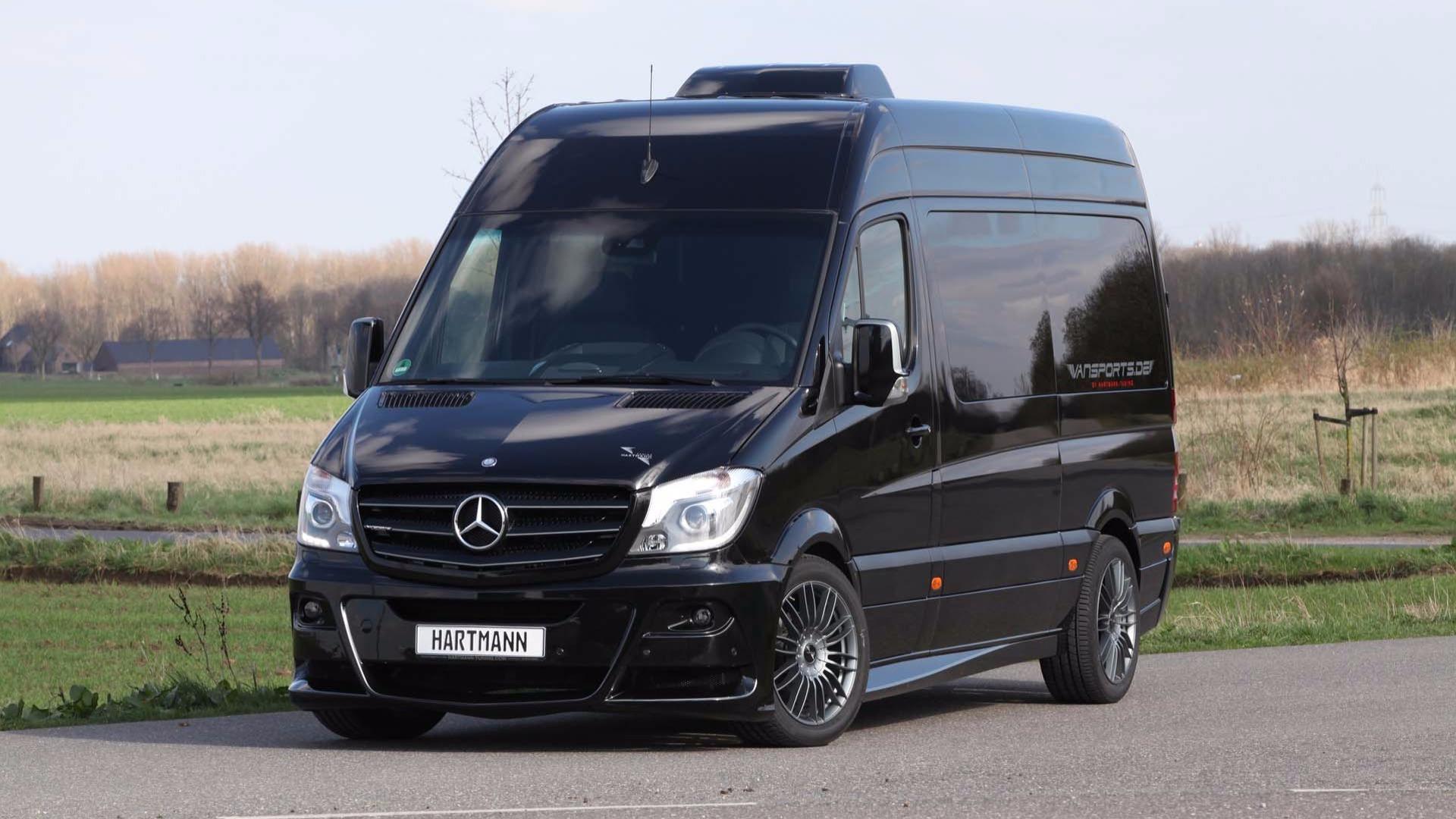 Hartmann custom mercedes sprinter makes efficient use of space for Mercedes benz campervan usa