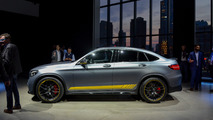 2018 Mercedes Benz GLC Coupe and SUV - New York 2017