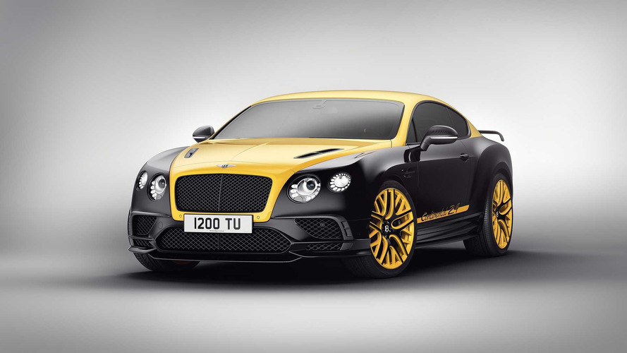 700-hp Bentley Continental 24 Takes Inspiration From Motorsport