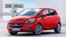 Opel Corsa rojo