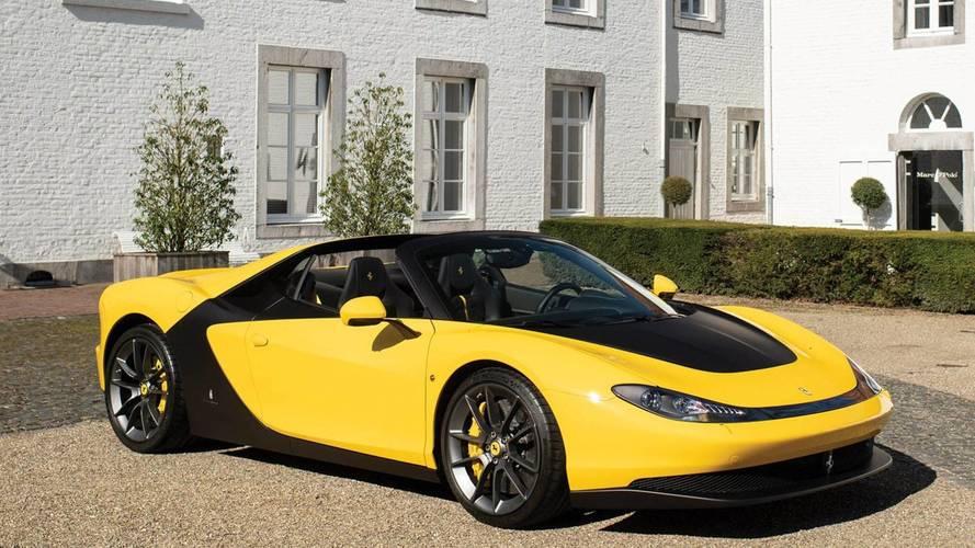 Eladó a mindössze hat példányban gyártott Ferrari Sergio egyike