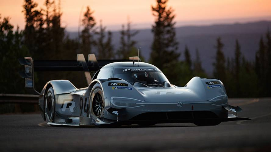 """VW Specifically Goes With """"94"""" Number For I.D. R Pikes Peak"""