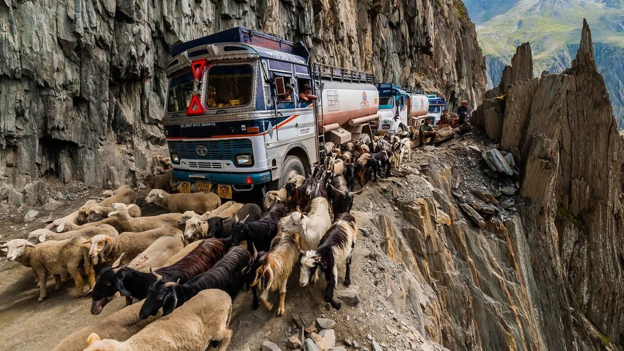 3.- Paso de Zoji (India)