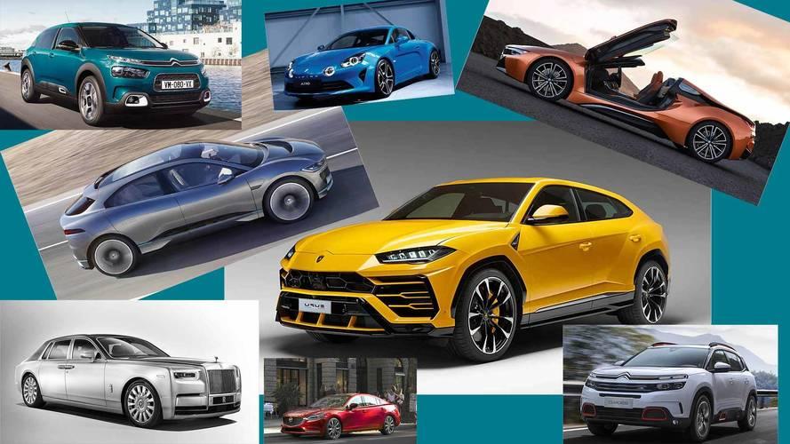 Die Auto-Neuheiten im Jahr 2018