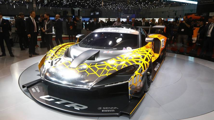 McLaren Senna GTR koncepció Genfben