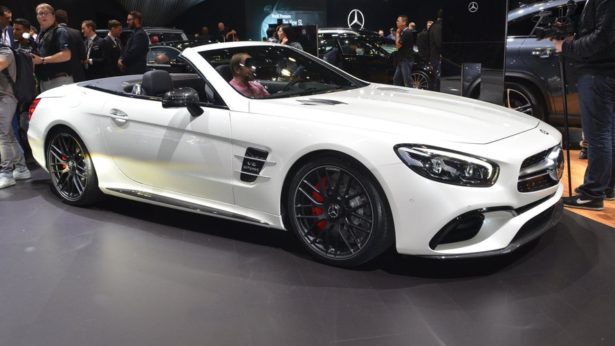 Mercedes-Benz SL facelift first five videos show it all