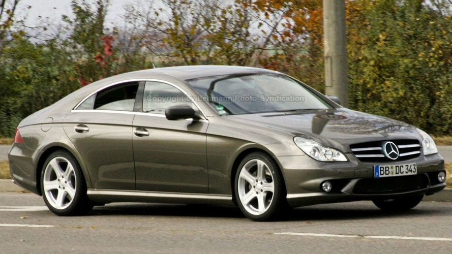 Spied: Mercedes CLS Facelift Undisguised
