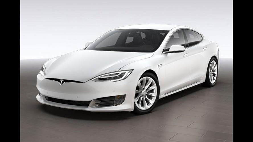 Este é o Tesla Model S 2017 reestilizado - fotos oficiais