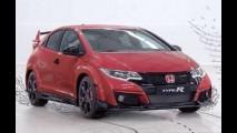 Vazou: novo Honda Civic Type-R aparece em primeira imagem oficial