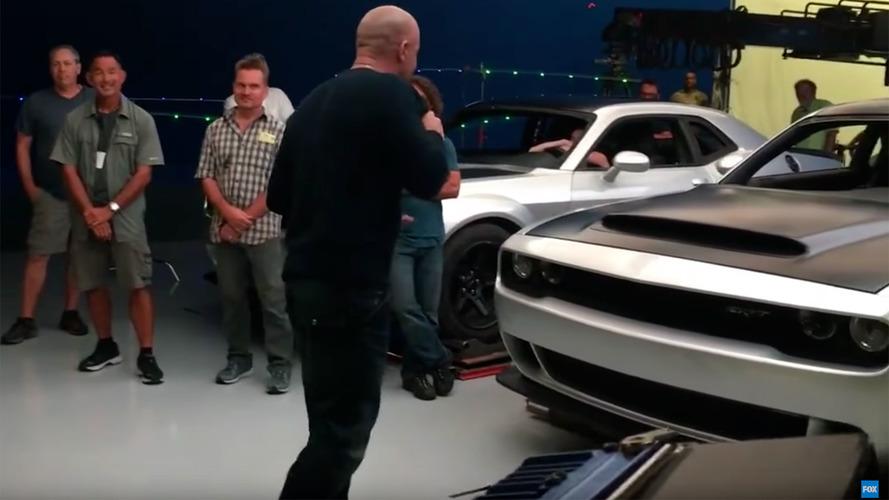 Vin Diesel, 2018 Dodge Challenger Demon'u yanlışlıkla sızdırdı mı?