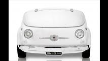 Fiat 500 als Kühlschrank