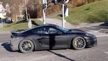 Porsche 718 Cayman GT4 Spy Photos