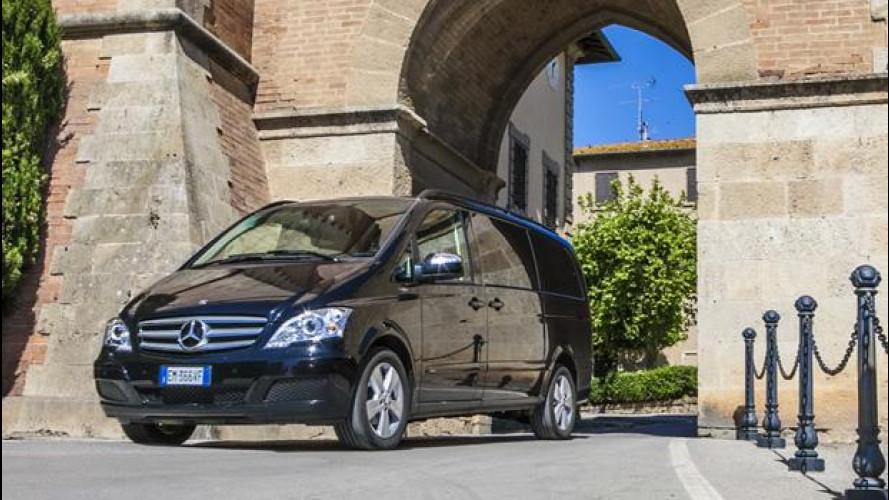 Mercedes Viano: il viaggio in Toscana di OmniAuto.it