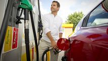 Shell gasoline pump