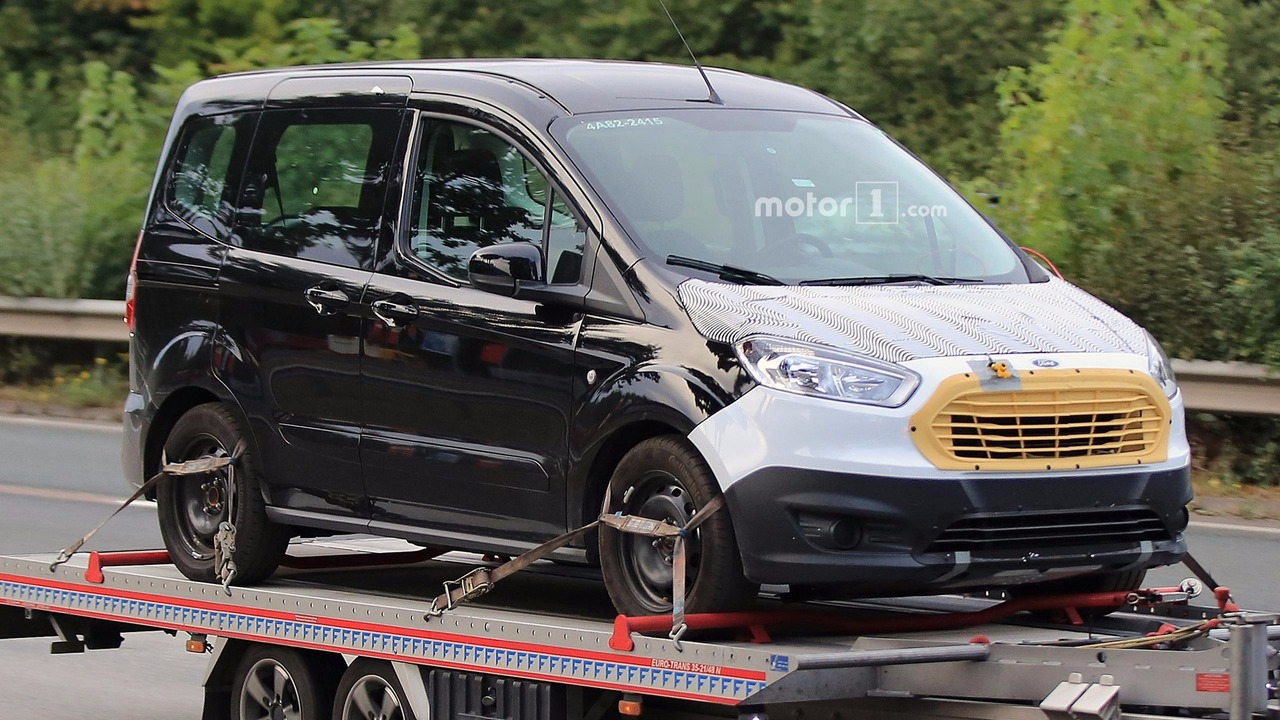 Ford Tourneo Courier Facelift