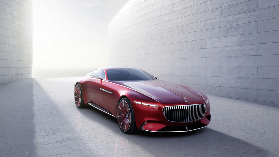 Vision Mercedes-Maybach 6 - Apparition surprise
