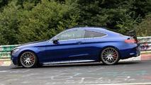 Mercedes-AMG C63 R Coupe Spy Pics