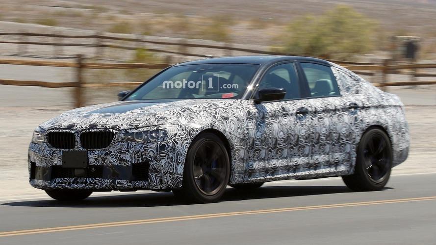 Vidéo - La future BMW M5 en action sur le Nürburgring