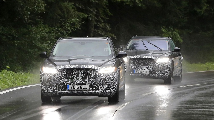 Jaguar E-Pace - Les probables photos des tests sur route