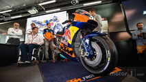 The KTM MotoGP Bike
