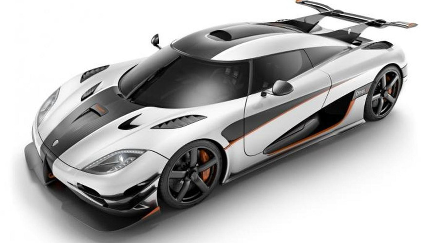 Koenigsegg One:1 revealed with 1,341 HP, billed as world's first mega car