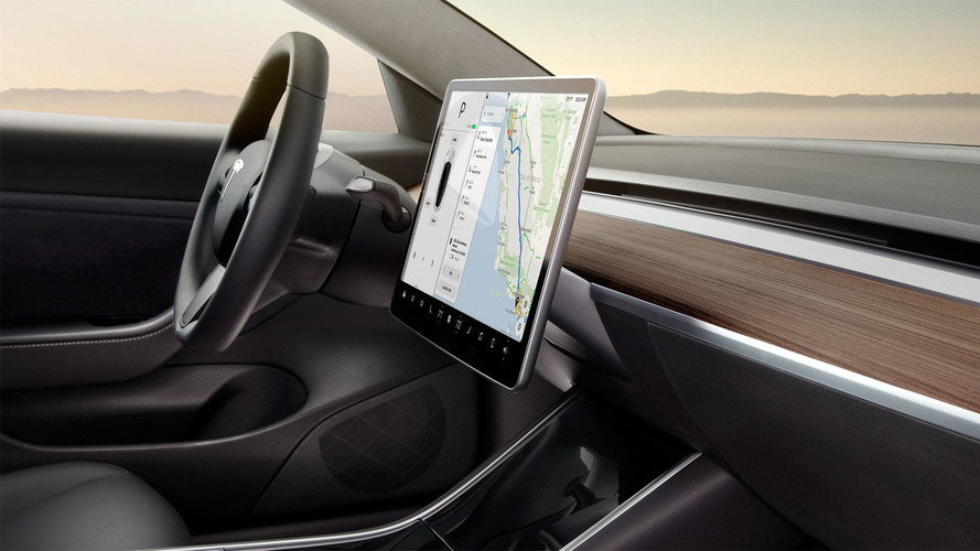 New Production Tesla Model 3 Interior Video Surfaces