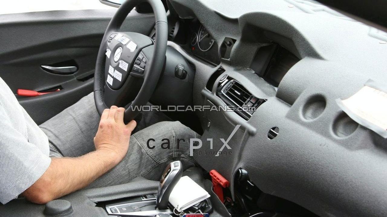 BMW 5 Series Interior Spied