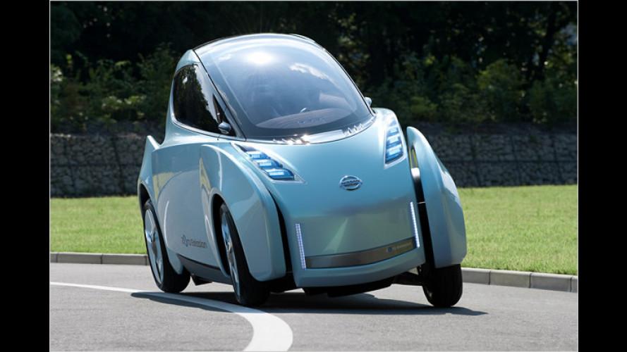 Viel unter Strom: Nissan in Tokio