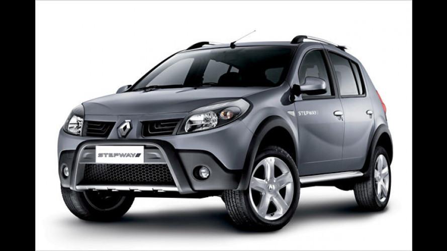 Renault Sandero Stepway: Höher gelegt für Südamerika