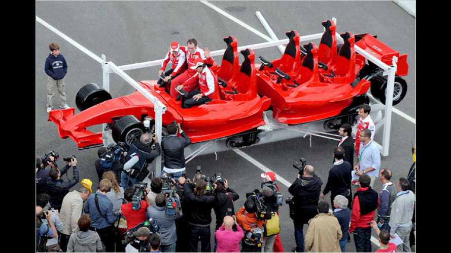 Ferrari Formula Rossa: Aufregende Achterbahn