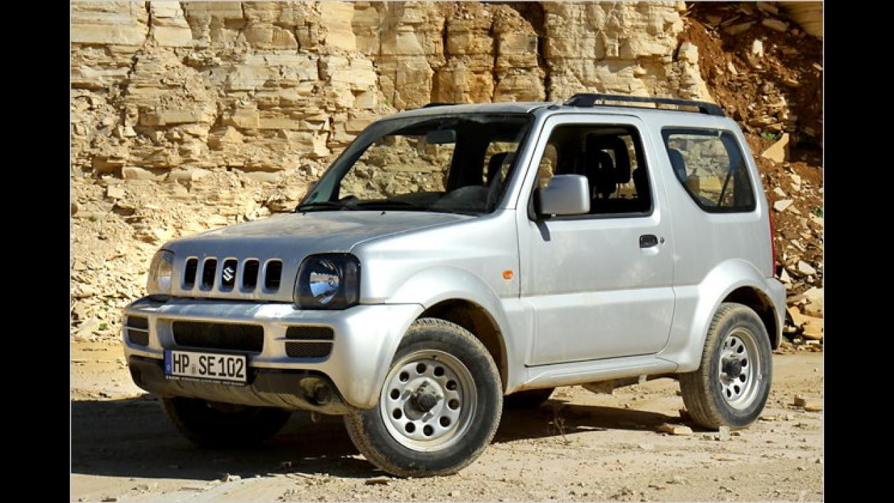 Suzuki: Kizashi, Grand Vitara und Jimny aus Japan
