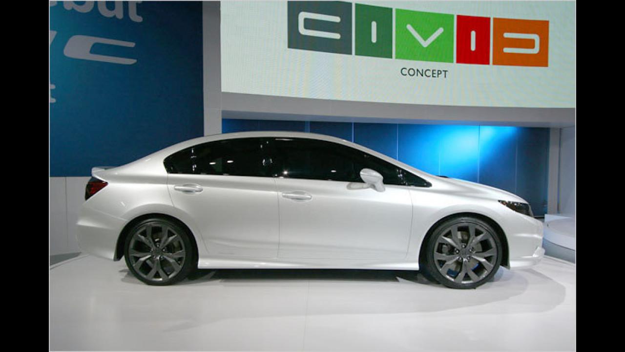 Honda Civic Concept sedan