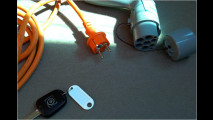 E-Mobil mit Ledersitzen