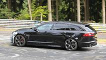 Jaguar XFR-S Sportbrake spied testing at the Nurburgring