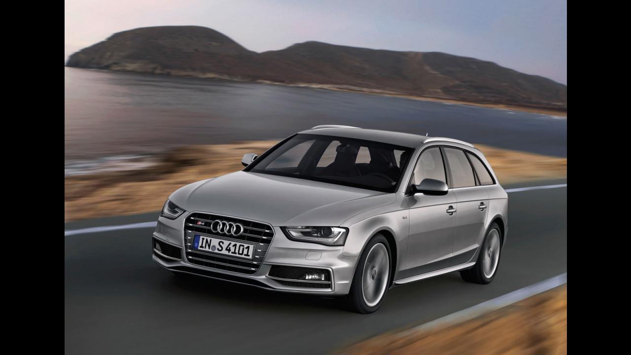 Audi S4 Avant restyling 2011