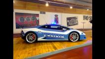 Lamborghini Huracan LP 610-4 Polizia dal vivo