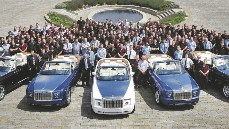 First Phantom Drophead Coupes Roll Out From Goodwood Factory