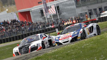 Sebastien Loeb in 2013 McLaren 12C GT3 takes the win at first race in Nogaro