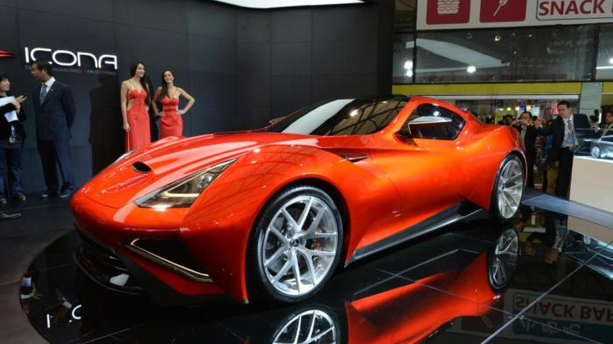 Icona Vulcano races into Auto Shanghai